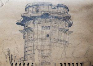 Flakturm im Augarten